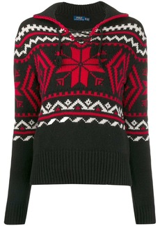 Ralph Lauren: Polo winter motifs intarsia jumper