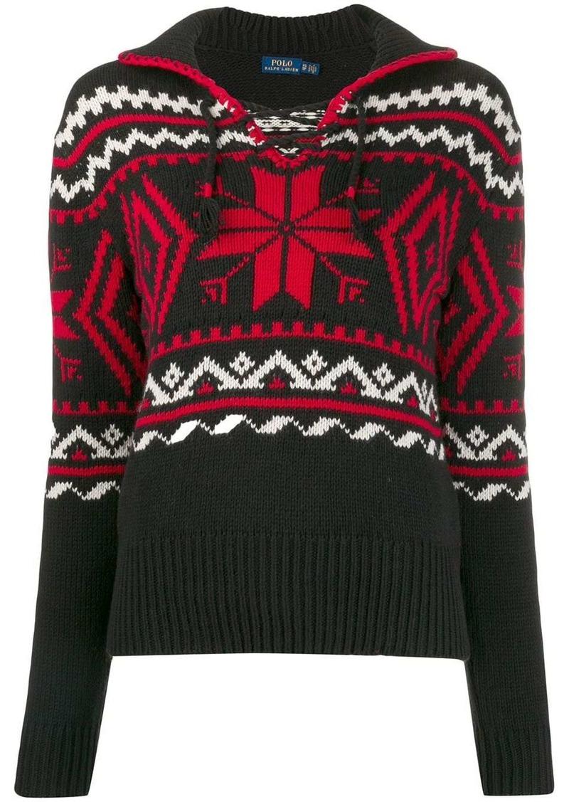 Ralph Lauren: Polo winter motifs intarsia jumper