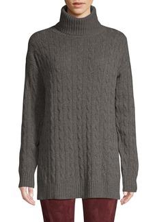 Ralph Lauren: Polo Wool Blend Bristol Cableknit Sweater