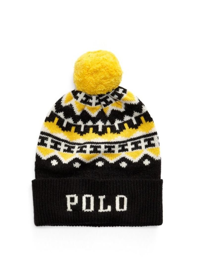 Ralph Lauren Polo Wool-Blend Hat