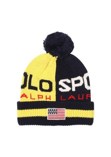 Ralph Lauren Polo Wool Blend Knit Hat
