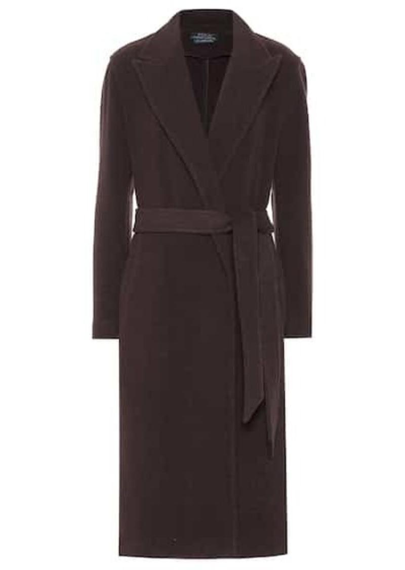 Ralph Lauren: Polo Wool-blend wrap coat