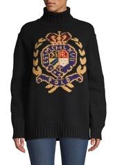 Ralph lauren polo wool logo crest turtleneck abv8aa968ff a
