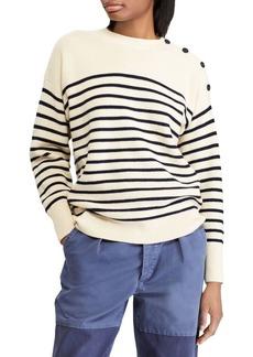 Ralph Lauren: Polo Wool Striped Sweater