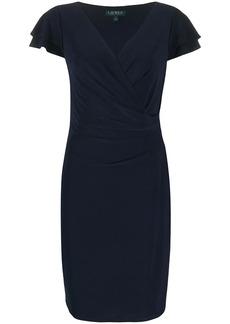 Ralph Lauren: Polo wrap-style cocktail dress