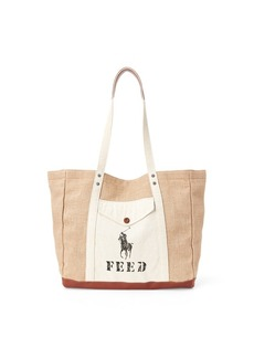 Ralph Lauren Polo x FEED Tote Bag