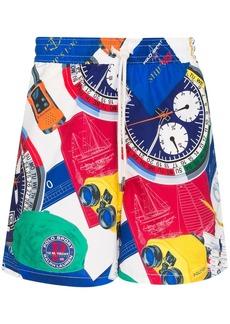 Ralph Lauren Polo Yacht print swim shorts