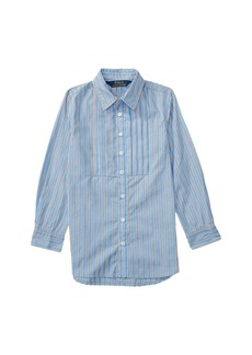 Ralph Lauren: Polo Yarn-Dyed Cotton Poplin Stripe Tunic (Toddler)