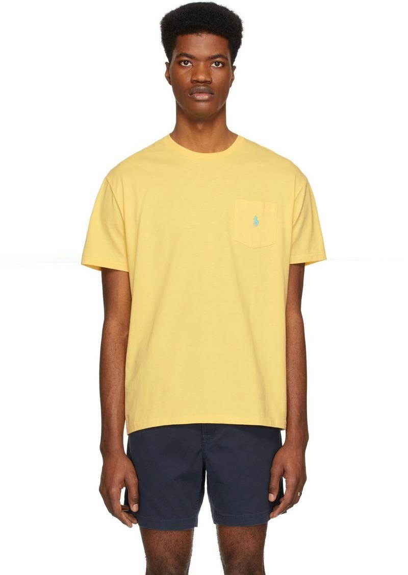 Ralph Lauren Polo Yellow Pocket T-Shirt