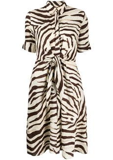 Ralph Lauren zebra print shirt dress
