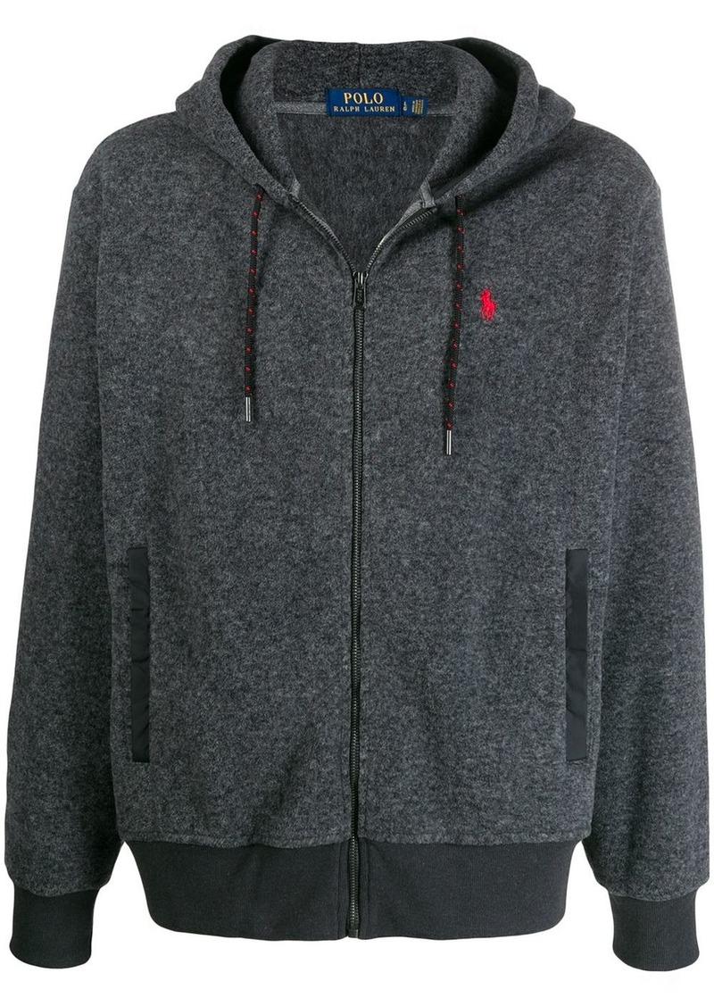 Ralph Lauren Polo zip-up logo hoodie