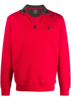 Ralph Lauren Polo zipped neck sweatshirt