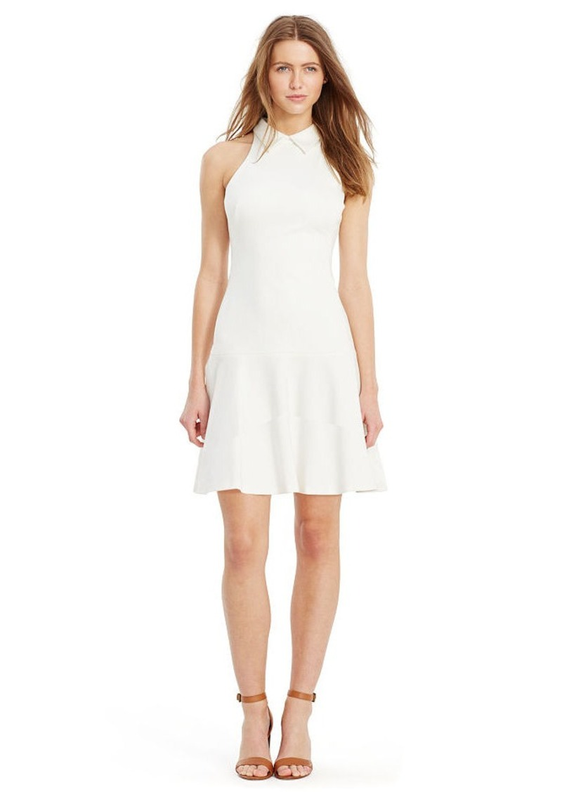 Ralph Lauren Ponte Drop-Waist Dress