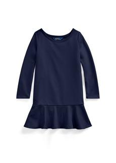 Ralph Lauren Ponte Drop-Waist Dress