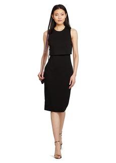 Ponte Open-Back Dress
