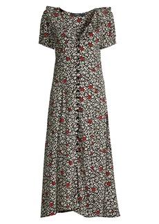 Ralph Lauren: Polo Poppy Field Short-Sleeve Dress