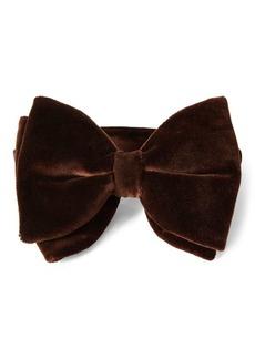 Ralph Lauren Pre-Tied Velvet Bow Tie