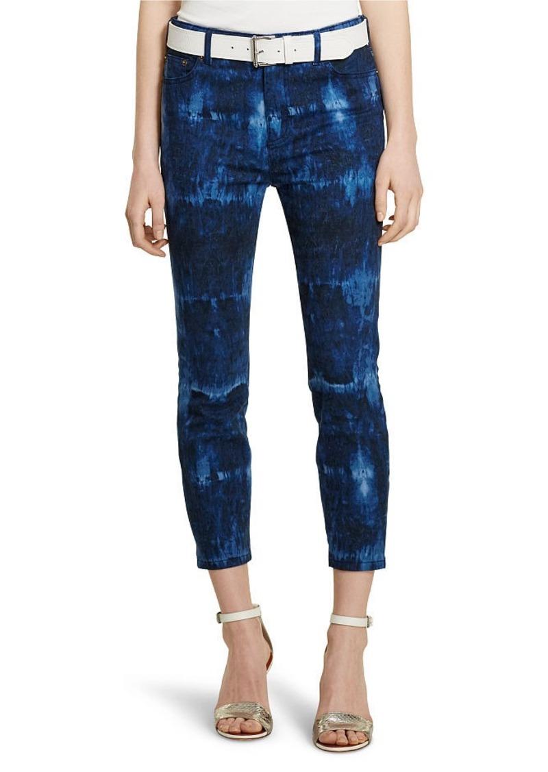 Ralph Lauren Premier Cropped Skinny Jean