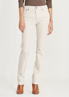Ralph Lauren Premier Straight Corduroy Pant
