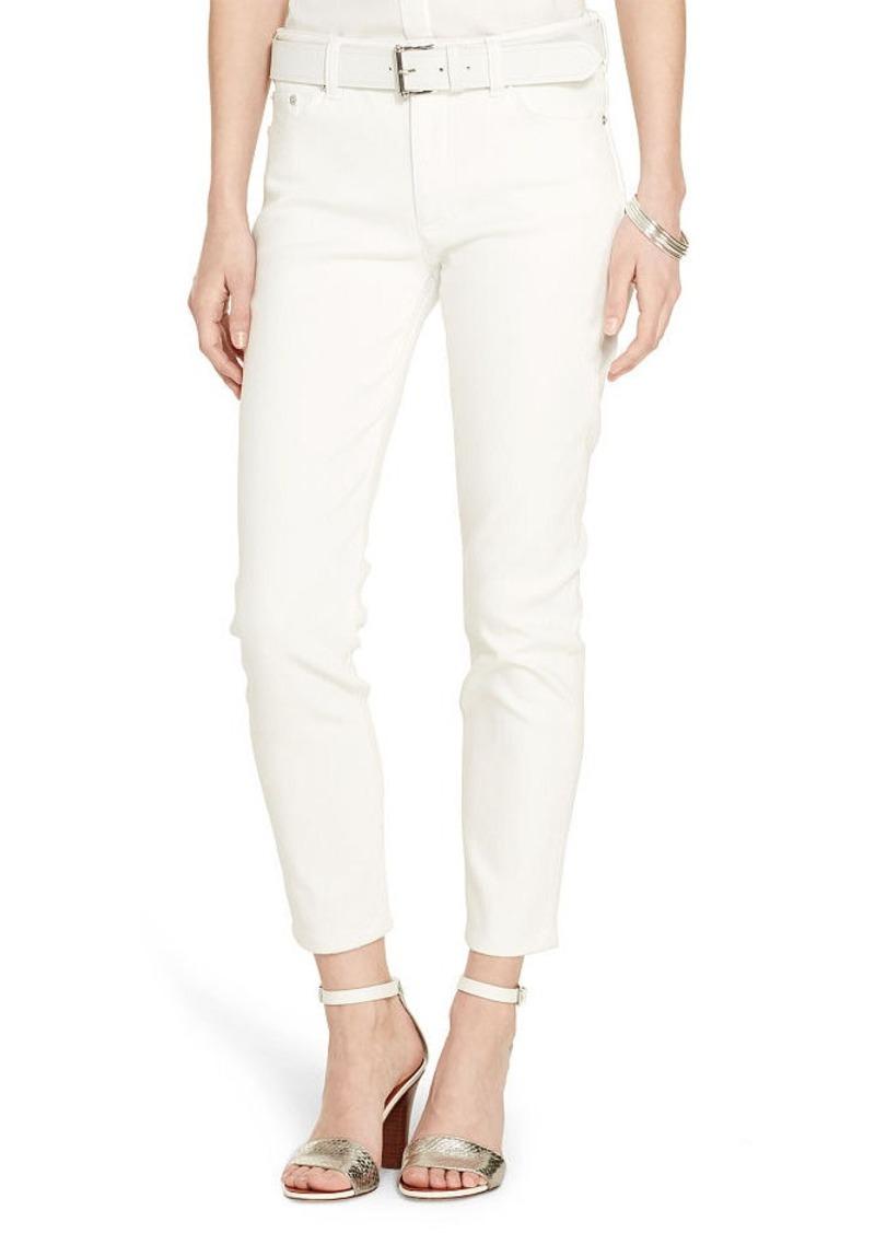 Ralph Lauren Premier Straight Cropped Jean