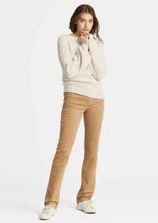 Ralph Lauren Premier Straight Skinny Cord