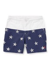 Ralph Lauren Prepster Colorblock Star Shorts