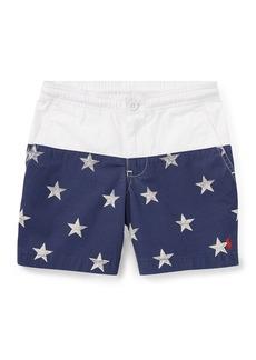 Ralph Lauren Prepster Colorblock Star Shorts  Size 2-4