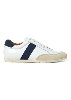 Ralph Lauren Price Leather Low-Top Sneaker