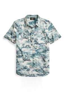Ralph Lauren Print Cotton Jersey Workshirt