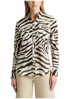 Ralph Lauren Print Cotton Shirt