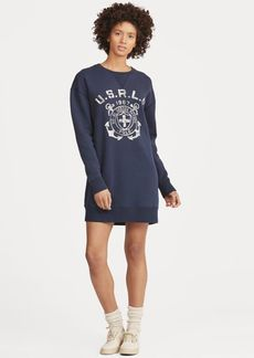 Ralph Lauren Print Fleece Sweater Dress
