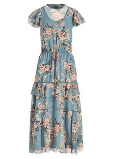 Ralph Lauren Print Georgette Dress