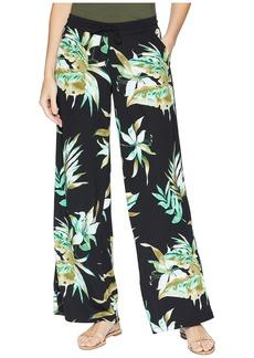 Ralph Lauren Print Jersey Wide-Leg Pants