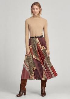 Ralph Lauren Print Patchwork Skirt