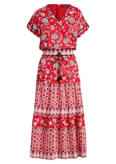 Ralph Lauren Print Sateen Dress