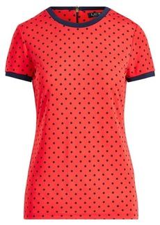 Ralph Lauren Print Stretch Cotton T-Shirt