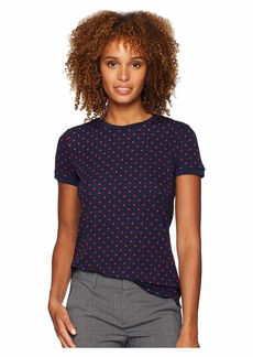 Ralph Lauren Print Stretch Cotton T-Shirt