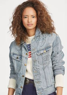 Ralph Lauren Print Trucker Jacket