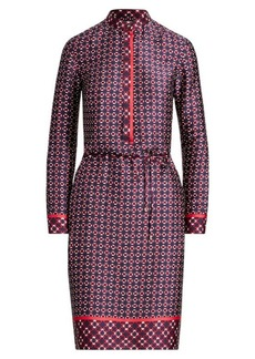 Ralph Lauren Print Twill Shirtdress