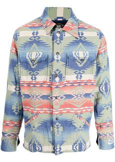 Ralph Lauren printed collared jacket