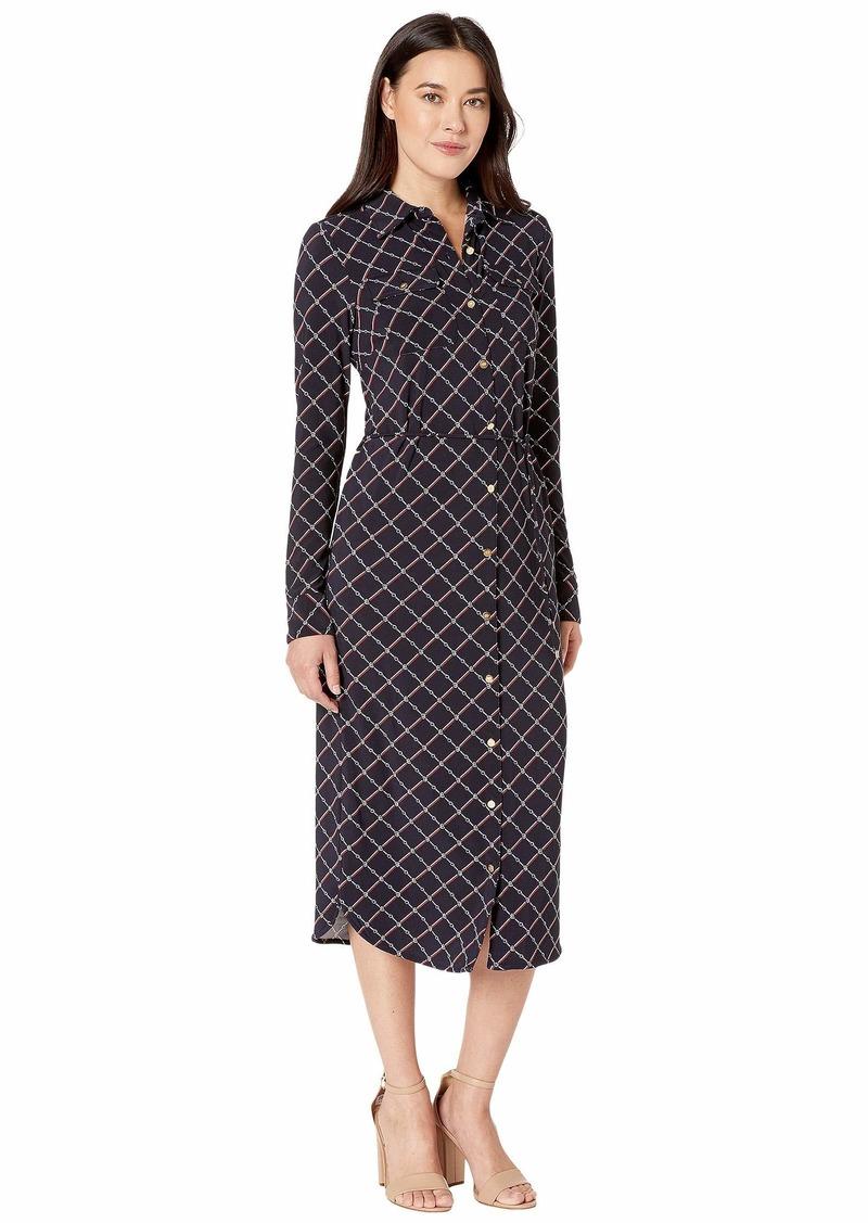Ralph Lauren Printed Jersey Shirtdress