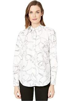 Ralph Lauren Printed Oxford Button-Down Shirt