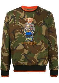Ralph Lauren printed Polo Bear sweatshirt