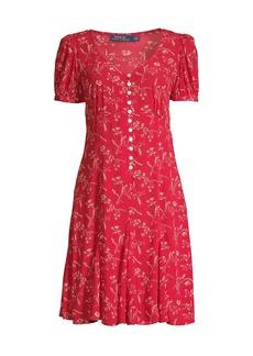 Ralph Lauren: Polo Printed Short-Sleeve Dress