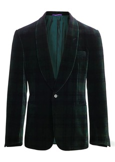 Ralph Lauren Printed Velvet Jacket