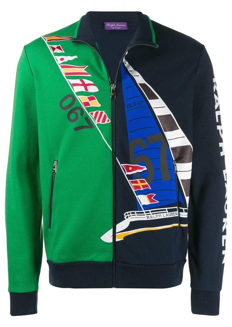 Ralph Lauren printed zipped jacket