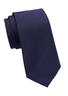 Ralph Lauren Purple Label Peau de Soie Silk Tie