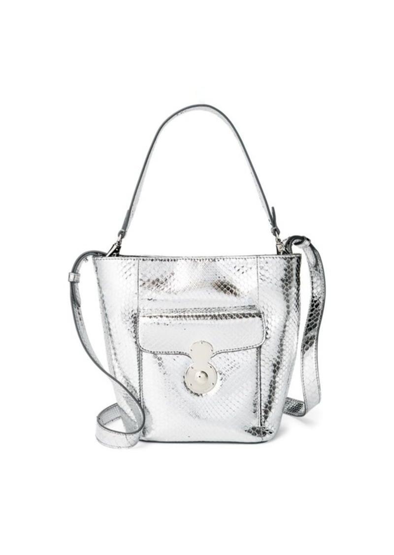 Ralph Lauren Python Mini RL Bucket Bag   Handbags c0598956e3
