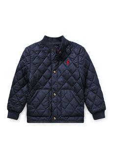 Ralph Lauren Quilted Baseball-Collar Jacket
