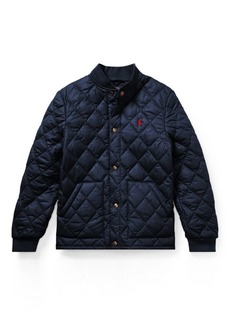 Ralph Lauren Quilted Baseball Jacket